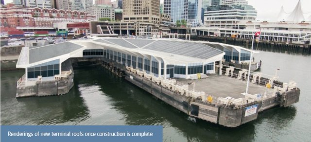 SeaBus terminal rendering