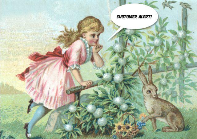 Easter customer alert