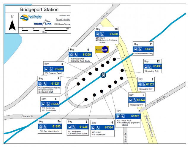 Bridgeport Station Bus Bay Moves