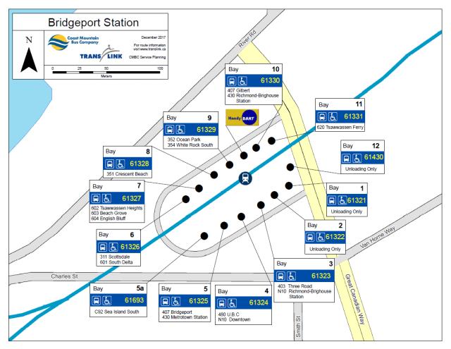 Bridgeport Station Bus Bay Moves