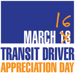 Logo for Transit Driver Appreciation Day