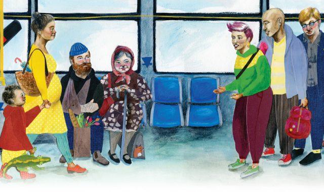 I Love Transit 2018 illustration