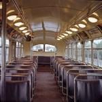 Brill T-44 interior, 1976