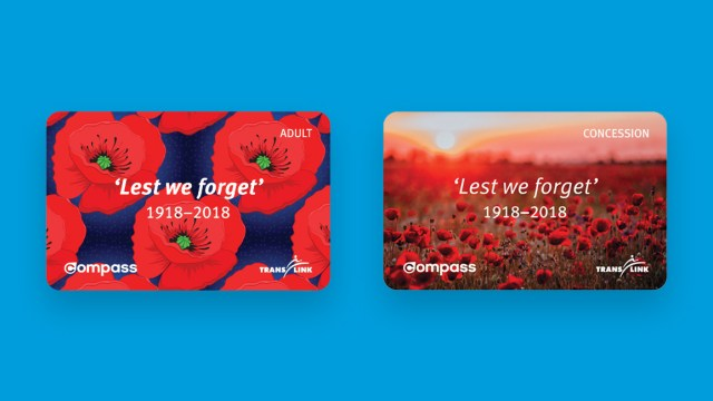 Remembrance Day Compass Cards