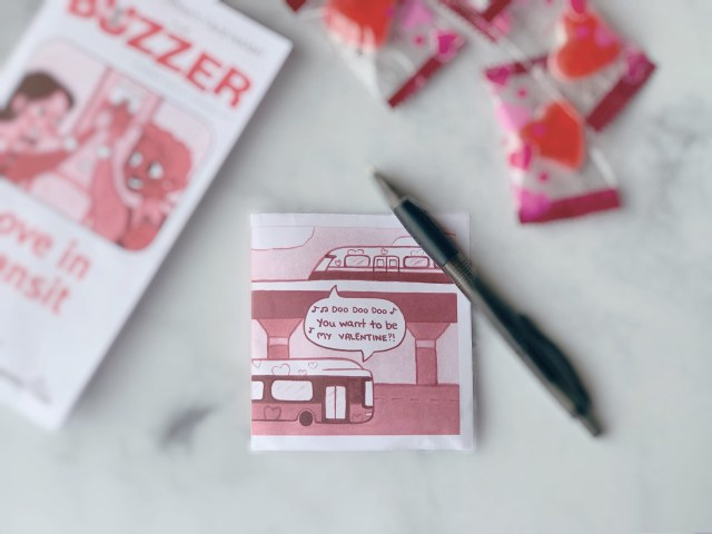 The Buzzer Valentine's Day Card