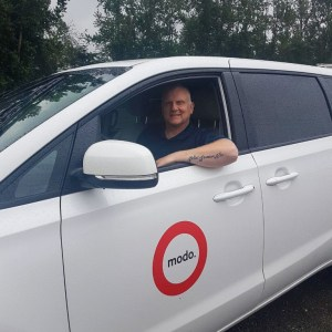 Clay McMullen, a vanpool customer