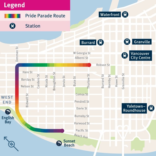 The Buzzer blog » Take transit to the Vancouver Pride Parade this