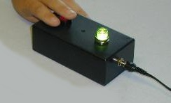 quiz player box ECM-400 green light lit