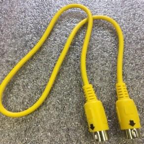 quiz lockout DIN cord 2-foot CM600 SC600 DIN8-2FT
