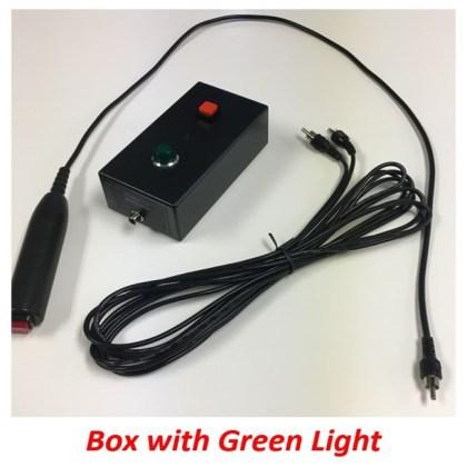 quiz player box green light ECM400 hand button