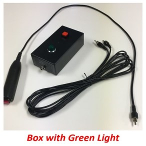 quiz player box green light ECM400 hand button