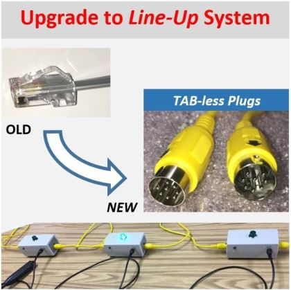 upgrade deluxe line-up quiz lockout buzzer system