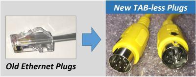 quiz buzzer cords RJ45 phone DIN plugs upgrade