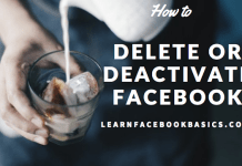 How Do You Delete or Deactivate Your Facebook Account Temporarily