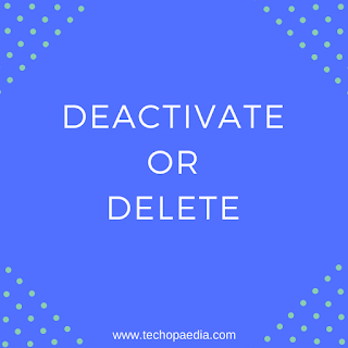 How to deactivate Facebook in 5 seconds