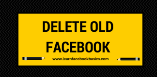 How to deactivate / delete Old Facebook Account   How to #DeleteFacebook