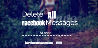 How Do I Delete all My Messages at Once on Facebook?