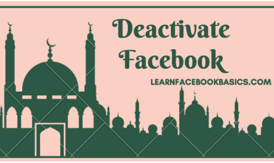 How to Deactivate Your Facebook Account Temporarily | How to #DeleteFacebook