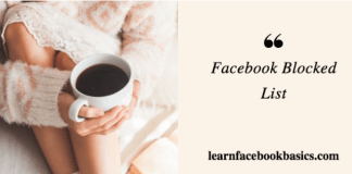 How To View My Blocked List On Facebook | Facebook Blocked Lists