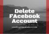 Delete or deactivate Facebook account Permanently or temporarily? | Deactivate Facebook account mobile | How to #DeleteFacebook