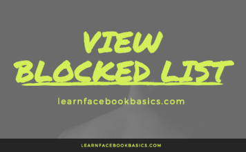 How To View Your Blocked List   See Facebook block list - Facebook Security