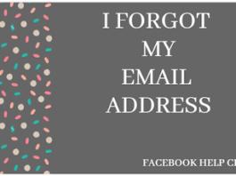 Forgot my Email Address