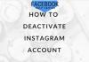 Instagram ID Delete