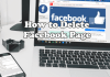 How Do I Delete A Page I Created On Facebook