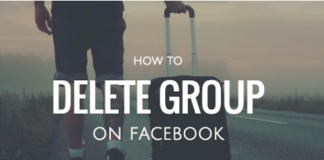 How to Exit Group On Facebook