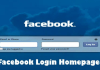 Facebook Login Homepage – Visit the Facebook Login Page