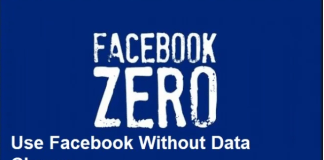 Facebook Zero – Use Facebook Without Data Charge | How to Switch to Facebook Data Free Mode
