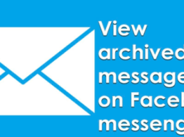 View archived messages