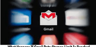 What Happens If Gmail Data Storage Limit Is Reached