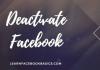 How do you deactivate Facebook Messenger