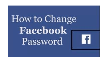 Change Facebook Password | How to Change Facebook Password