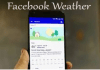Facebook Weather – How to Set Up Facebook Weather for Use