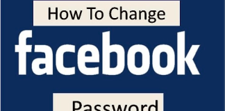 How Can I Change My FB Password