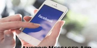 Android Messages App – Facebook Messenger App