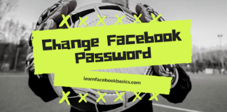 How To Change Facebook Login Password