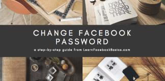 How to Change My Facebook Password