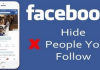 How to Hide Who You Follow on Facebook