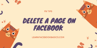 How to delete my Facebook page Right Now