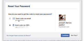 Facebook Recover Password   How to recover your facebook password when you can no longer to login