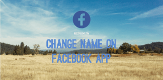 How to Change Your Name on Facebook App - What Happens When You Change Your Name on Facebook?