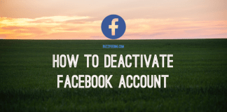 How to Deactivate Facebook Account in Mobile - Deactivate Facebook on Computer