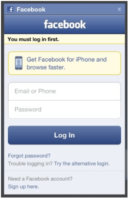 Facebook mobile login page m - This article talks about how you can have simple access to your Facebook account directly using your mobile. With this app, you can be deeply incorporated to Facebook using your mobile. You do not need to login every time you intend to access your account or do anything pertaining to its functions. Facebook Mobile Login Facebook mobile login page can be gotten to by going to this web page. The website opened up is https://m.facebook.com/mobile/. By going to this link, the Facebook mobile application can be downloaded to and installed on your phone. Then according to the availability of your data plan, access to this app is simply a click away and your whole world of Facebook features is simply a click away. Facebook app This feature is an added advantage. It is not just available for mobile but also for smart devices making use of Android as well as iPhone software programs. Today, more than 50% of the Facebook users are accessing it via mobile. Thus, the demand to develop different Facebook applications for different smart phones, iPads, iOS and Android mobiles and also the need to produce the Facebook Mobile Login iPhone is constantly growing. Facebook simple mobile login Facebook mobile Login This feature was presented by Facebook to ease login on mobile. This aided the customer in that he/ she does not experience the onerous login procedure every time he/ she wanted to login to Facebook. Nevertheless, this feature was a predecessor to now available Facebook Apps which are so user friendly as well as very easy to access and also give you the included advantage of remaining on your gadget as an icon which just should be clicked to access the Facebook account. Facebook.com Mobile Login Facebook mobile Login Facebook is as good as a body organ in a human body these days; so it goes without mincing words that Facebook is among the social platforms that provides it numerous users with the very best mobile experience out there. All you go