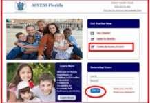 MyAccessFlorida Login