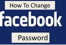 How to Change Your Login Facebook Password | Change Password