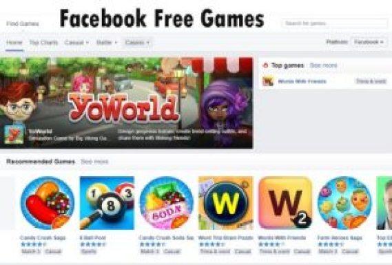 Facebook Free Games
