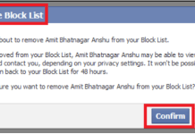 How Do I Unblock Someone On Facebook Android App